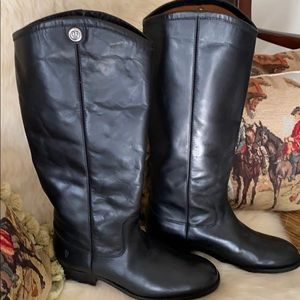 Frye Leather Tall Boots-Melissa Button2 Sz 6